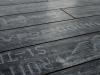 Yazılı Siyah Vintage Narrow Laminat Parke